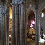 Interior, visto desde la subida a la torre.