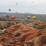 Каппадокия- полет на воздушном шаре