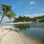 Praia Barra de Jequiá
