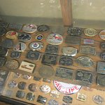 Belt buckles from oil companys