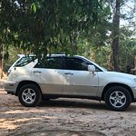 This is our SUV for serving customers who book through Angkor Cab