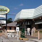 Petrow's Restaurant - front entrance