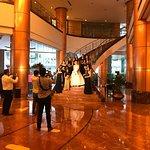 Lobby, they host lots of weekend weddings