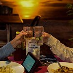 Cheers at sunset, Sofian special effects