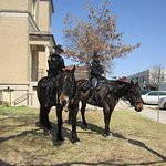 The Constables on horse back