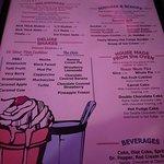 Shake menu (2018)