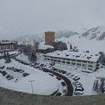 La foto è stata scattata dalla stanza dell'Hotel Principi di Piemonte dell'AURUM Hotel