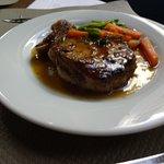 main dish: veal tenderloin