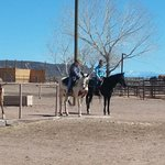 Conclusion of Trailride at Tamaya Stables