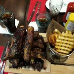 ribs whit chips
