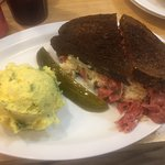 Reuben and potato salad - best in Twin Cities