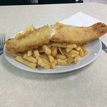 Cod and medium chips £7