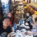My Bday Party with Persian class friends from China,france,Iraq,Ireland , Canada