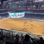 Rodeo before set up for Garth Brooks Concert