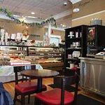 cozy ambiance, fabulous baked goods