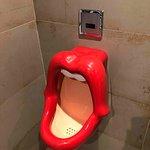Unique men's toilet