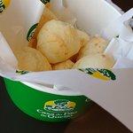 Balde de pão de queijo