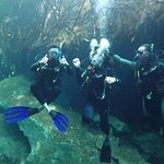 Diving with Danny at Casa Cenonte