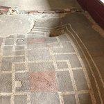 Post Hole Through The Mosaic