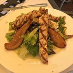 Grilled Chicken and Poached Pear Salad