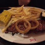 Half rack of BBQ ribs