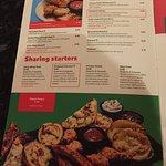 Starter menu