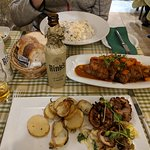 Also ordered the rabbit with figs and walnuts and potatoes