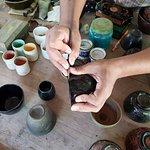 Engraving of Lacquerware