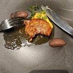 温菜「フォアグラのソテー」