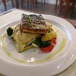 Fresh Pan-Fried Sea Bass