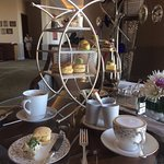'Golden' Afternoon Tea at Cafe Murano, Doha