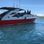 Le bateau de l hôtel