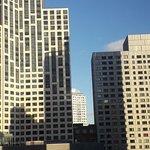 11ème étage vue à l'américaine...j'ai bien aimé