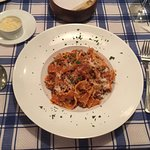 Delicious fresh pasta.