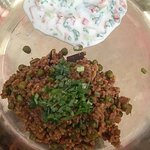 Simple South Indian Peas Pulav with a twist of local kullu red rice