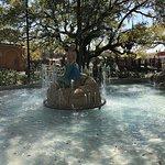 fountain with mermaid