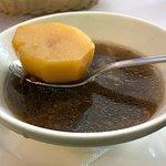 Картофель из супа из сушеных боровиков