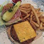 Veggie Burger & Fries