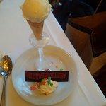 surprise birthday vanilla bean ice cream