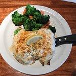 Baymazing crab & grilled chicken