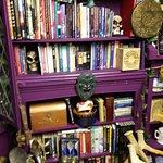 The crooked bookshelf