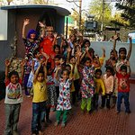 Performing a concert arranged by Indian Panorama at an orphanage in Udaipur