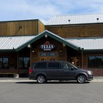 front of Texas Roadhouse