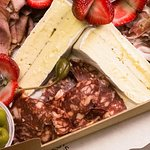 Cheese Please: Corporate Catering platters from Otto's Continental Deli.