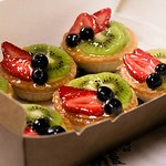 On the Rise: Fresh and colourful fruit tarts, handmade at Otto's Artisan Bakehaus.
