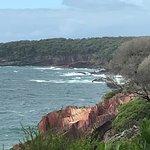 Coastal views along the way.
