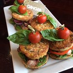 Zucchini fritters gluten & dairy free