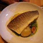 Pan fried bream