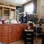 Oude apotheek kasten