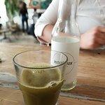 Zöld tea.